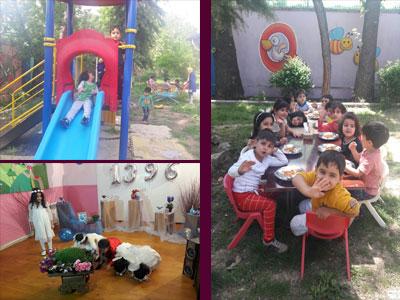 مهدکودک و پیش دبستانی نهالستان