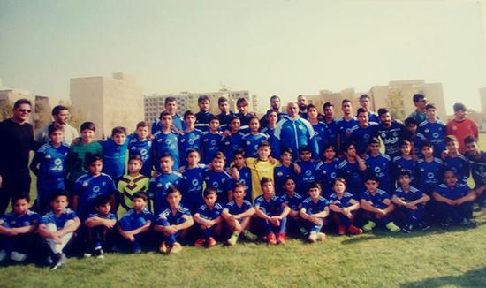 مدرسه فوتبال آبی آرسا