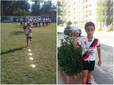 مدرسه فوتبال اقتدار البرز