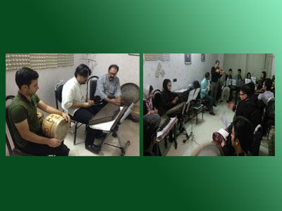 آموزشگاه موسیقی پارمیدا