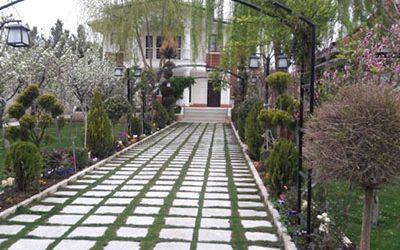 املاک خانه باغ